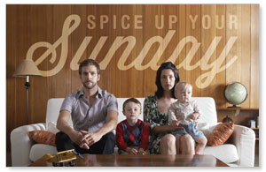 Spice Up Sunday Postcards