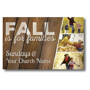 Fall Families 4/4 ImpactCards