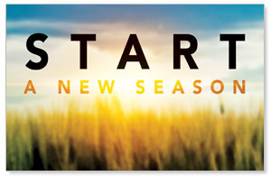 New Season Sunrise Postcards