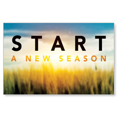 New Season Sunrise Postcard