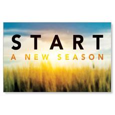 New Season Sunrise Postcard