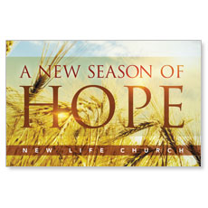 Hope Wheat Postcard