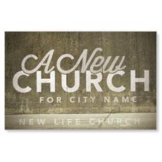 New City Church Postcard