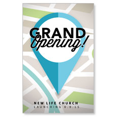 Grand Opening Pin