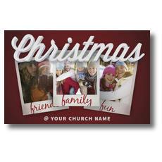 Christmas Snapshots Postcard
