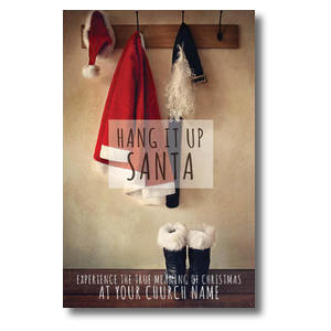 Hang It Up Santa 4/4 ImpactCards