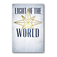 Light of the World Star Postcard