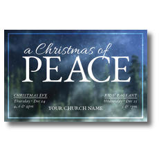 Christmas of Peace Postcard