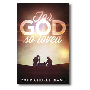 For God So Loved Nativity 4/4 ImpactCards