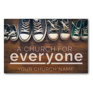 Everyone Shoes Postcards