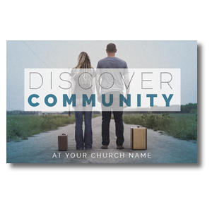 Discover Community People Postcards