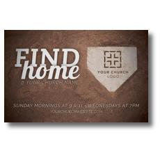 Find Home Postcard