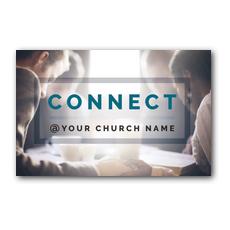 Connect Postcard