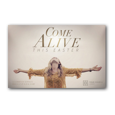 Come Alive This Easter Postcard