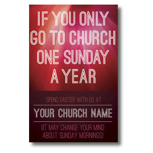 One Sunday a Year Postcards