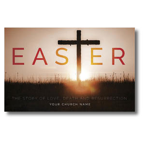 Easter Cross Postcards