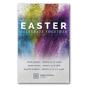 Easter Powder Paint 4/4 ImpactCards