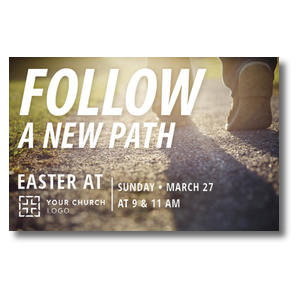 Follow a New Path Postcards