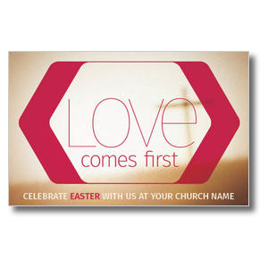 Love Comes First Postcards