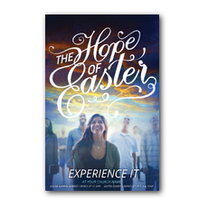 The Hope of Easter People Church Postcard