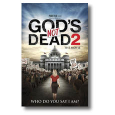 Gods Not Dead 2 Postcard