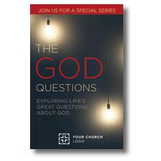 God Questions Postcard