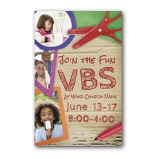 VBS Crafts Postcard