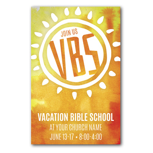 VBS Sunny Church Postcards