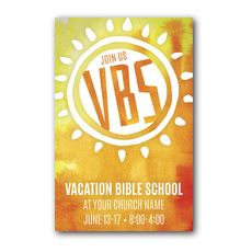 VBS Sunny Postcard