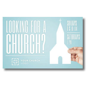 Looking Church Postcards