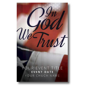 God We Trust Postcards