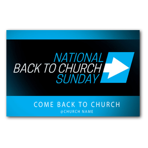 Come Back to Church BTCS Postcards