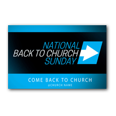 Come Back to Church BTCS Postcard