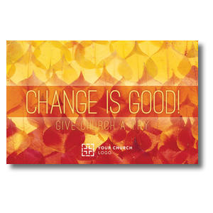 Change Is Good Postcards