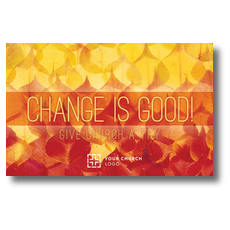 Change Is Good Postcard