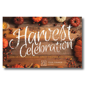 Pumpkin Border Postcards