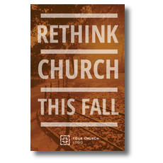 Rethink Church Postcard