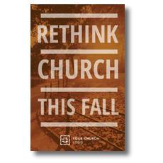 Rethink Church Postcard