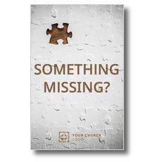 Something Missing Postcard