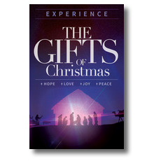 The Gifts of Christmas Advent Postcard