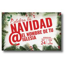 Christmas At Spanish Postcard
