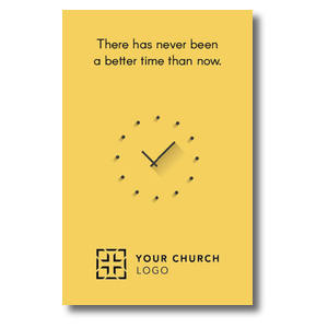 Yellow Clock 4/4 ImpactCards