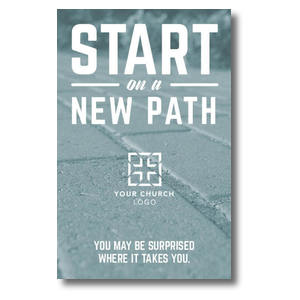 Start New Path Postcards