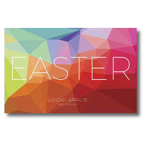 Bright Geometric Easter 4/4 ImpactCards