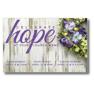 Celebrate Hope 4/4 ImpactCards