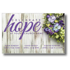 Celebrate Hope Postcard