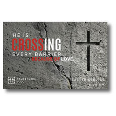 Crossing Every Barrier Postcard