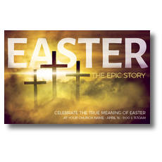 Easter Epic Story Postcard