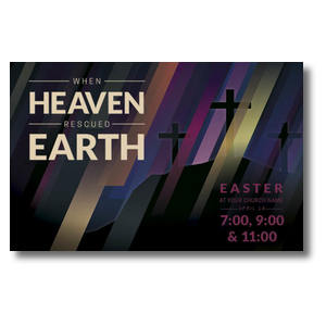 Heaven Rescued Earth Postcards