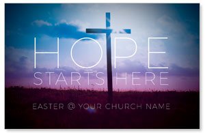 Hope Starts Here Postcards